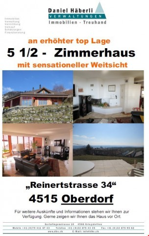 5 1/2 Zimmerhaus mit Weitsicht 25996152
