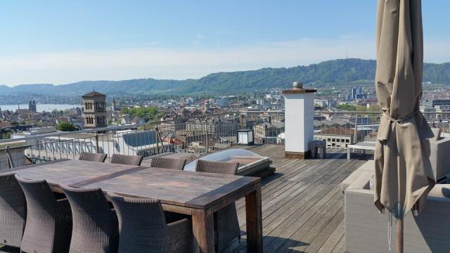 Zentral Arbeiten (und Wohnen) über den Dächern von Zürich 25532017