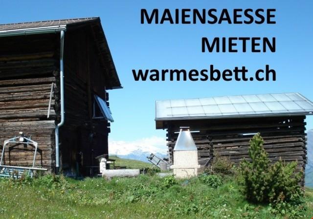 MAIENSAESSE TAGE-/WOCHENWEISE MIETEN AUF www.WARMESBETT.ch 12633543