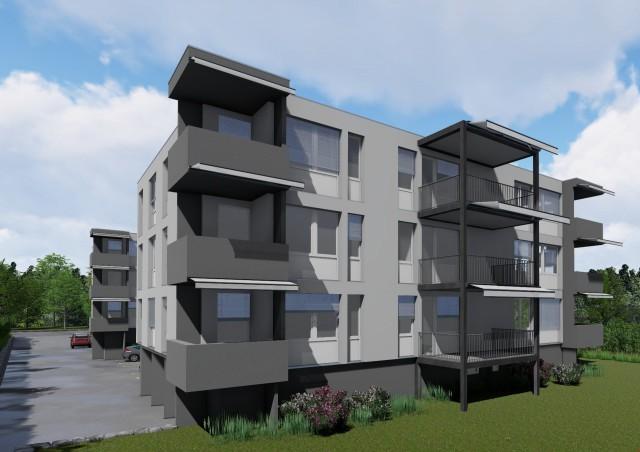 helle moderne 3 1/2 Zimmerwohnung mit Balkon 31757816