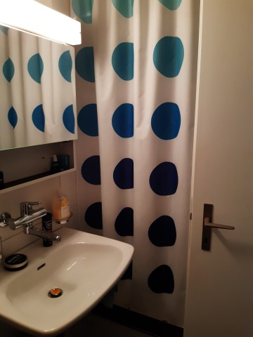 Dusche + Toilette