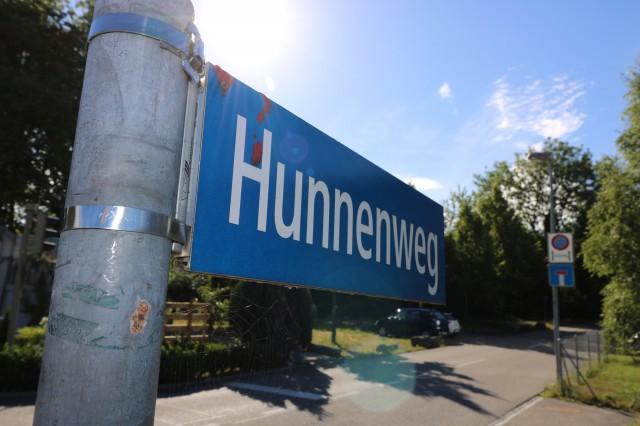 Gewerbeareal Dribischrüz am Hunnenweg