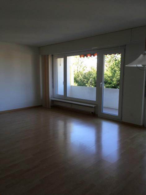 Miete: Grosse Wohnung im Hochparterre mit Balkon