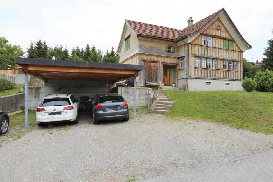 Miete: gemütliches Einfamilienhaus mit herrlicher Aussicht