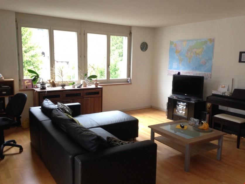 Miete: schöne und grösszügige Wohnung