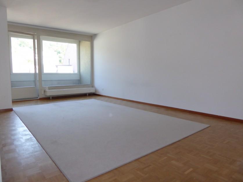 Miete: neue helle Wohnung, Balkon mit Weitsicht