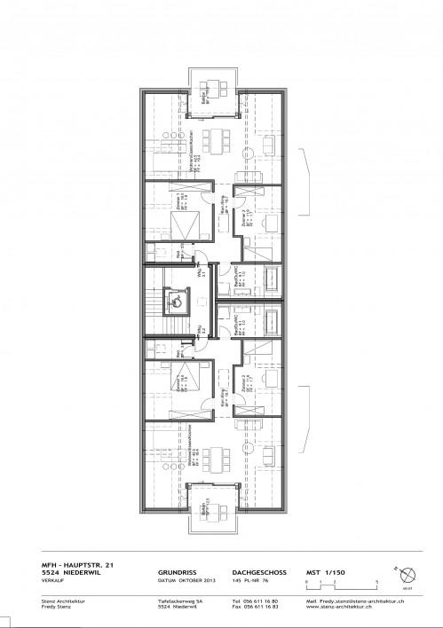 neubau 3 1 2 zi dachwohnung nabhome ch. Black Bedroom Furniture Sets. Home Design Ideas