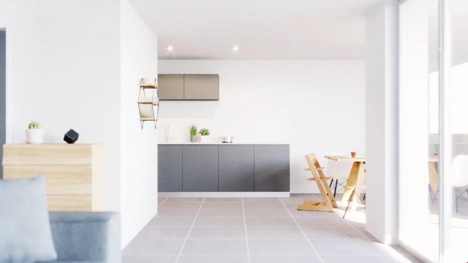 moderne 3 5 zimmer wohnung im modernen ausbaustandard nabhome ch. Black Bedroom Furniture Sets. Home Design Ideas