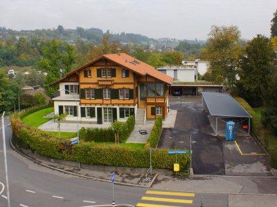 Die Liegenschaft im beliebten Felsenau Quartier in Bern