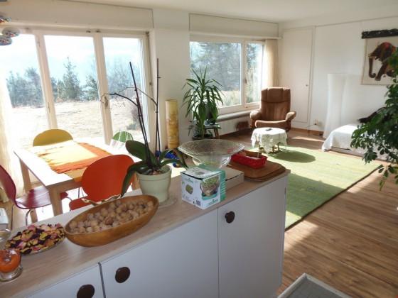 Studio mit viel Sonne und Ausgang in Garten