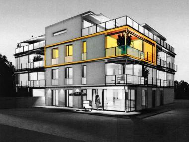 3.5-Zi.-Wohnung, modern und hell mit Sicht ins Grüne