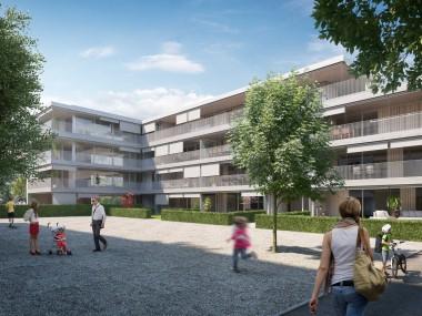 3.5-Zi.Gartenwohnung plus zusätzliches Büro auf gesamthaft 137.6 m2