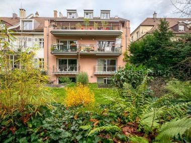 3.5-Zi-Maisonette-Wohnung mit eigenem Gartenanteil an ruhiger Lage