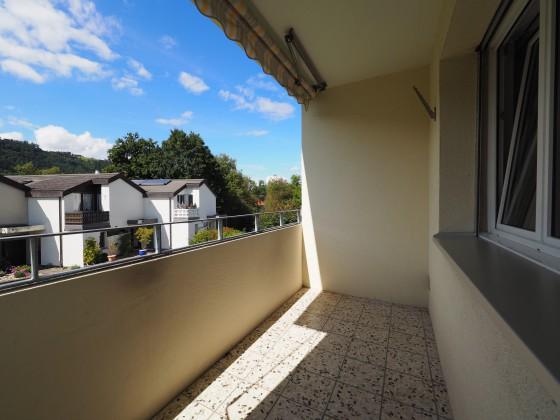 Witterungsgeschützter Balkon