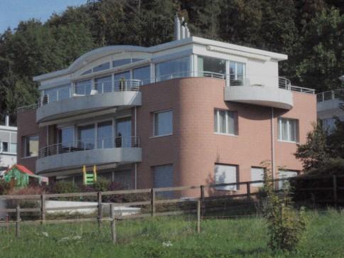 4 1/2 Zimmer, grosser Südbalkon mit Alpensicht