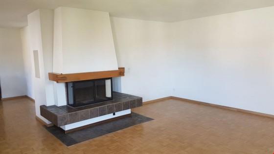 Wohnzimmer, Cheminée