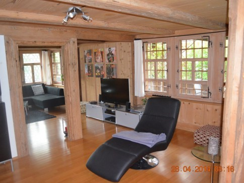 5.5-Zimmer-Wohnung in renoviertem Bauernhaus