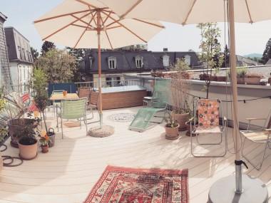 5.5-Zimmer Wohnung mit grosser Dachterrasse