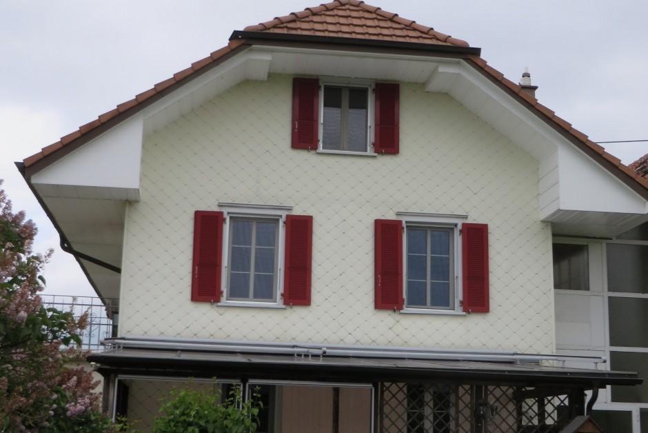 6 1 2 zimmer einfamilienhaus einseitig angebaut immoscout24. Black Bedroom Furniture Sets. Home Design Ideas