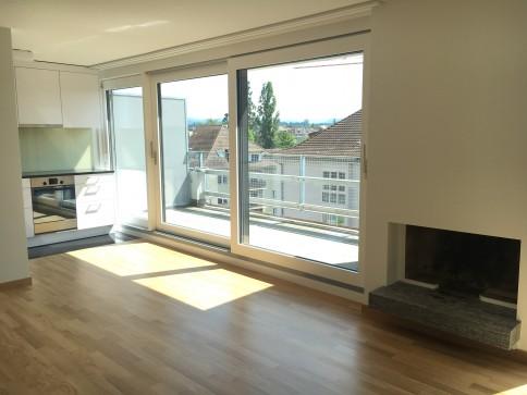 A room with a view! 3.5 Zi-Attika, frisch renoviert