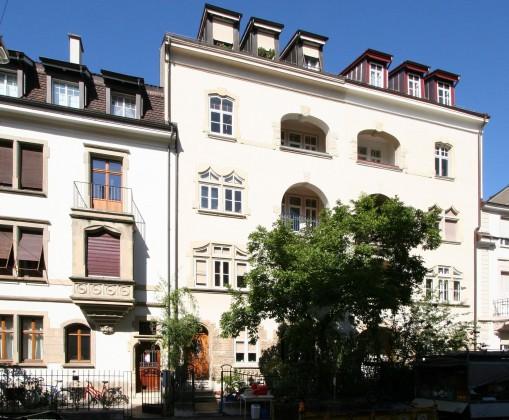 Südfassade zur Schillerstrasse