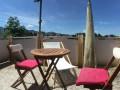 Attika Wohnung mit schöner Aussicht und Balkon