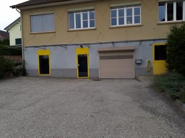 Attraktive Gewerbelokalitäten mit Büro in Oensingen zu vermieten