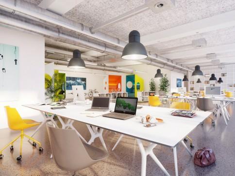 Ausgebautes Büro. Einfach loslegen für eine erfolgreiche Zukunft