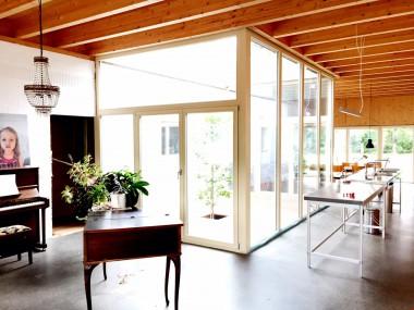 Aussergewöhnliche Architektur im Grünen