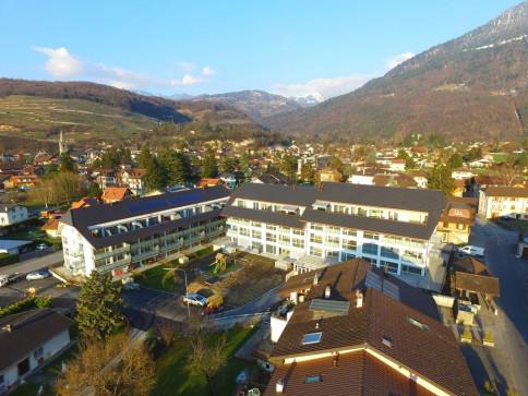 Bex : appartement neuf de 5.5 pièces avec grand balcon