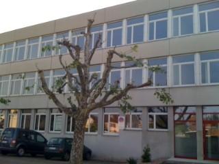 Büro- und Nebenräume