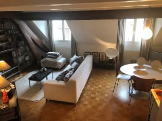 Charmant appartement 3,5 pièces mansarde