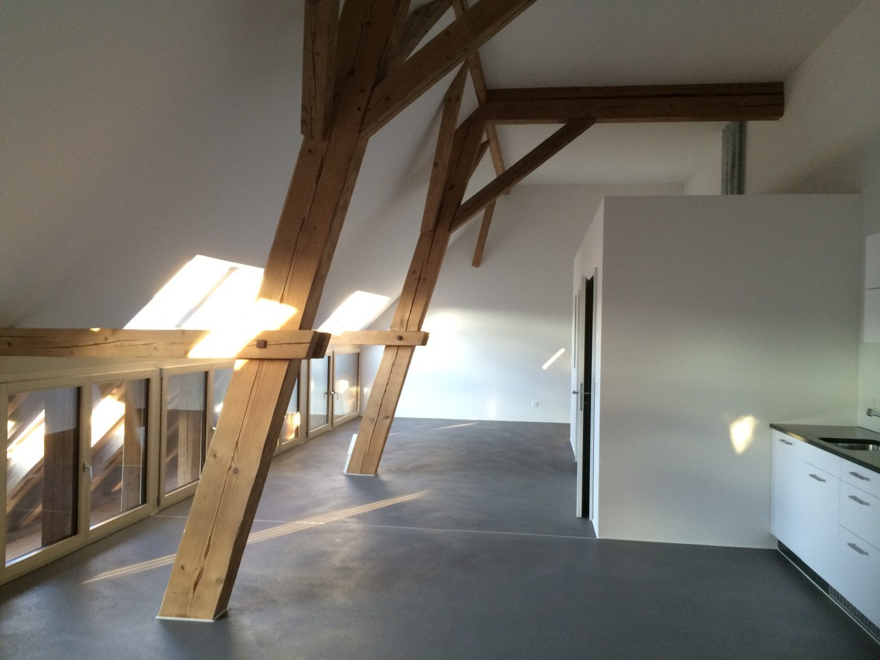 Einzigartige Loft Wohnung Im Ehemaligen Bauernhaus   ImmoScout24