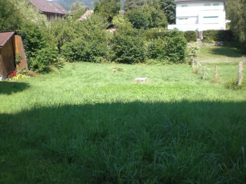 Erschlossene Baulandparzelle