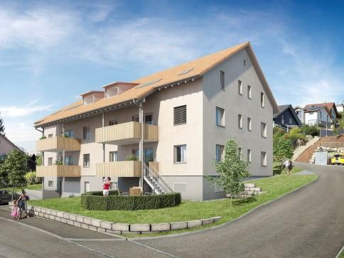 Erstvermietung 3.5 Zimmer Dachwohnung mit Charme