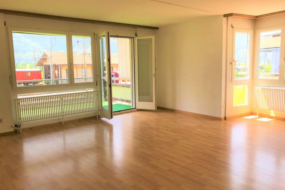 grossz 252 gige und moderne wohnung mit grossem balkon in meiringen immoscout24