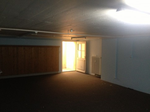 Hobby- Musik- Gymnastikraum, Atelier mit sept. Eingang + WC