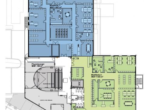 Klein- und Grossflächen für Ihr Büro-/Gewerbekonzept