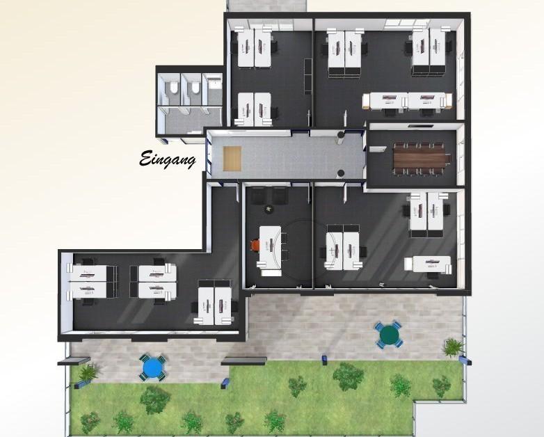 lichtdurchflutete b ror ume 164 m2 ost immoscout24. Black Bedroom Furniture Sets. Home Design Ideas