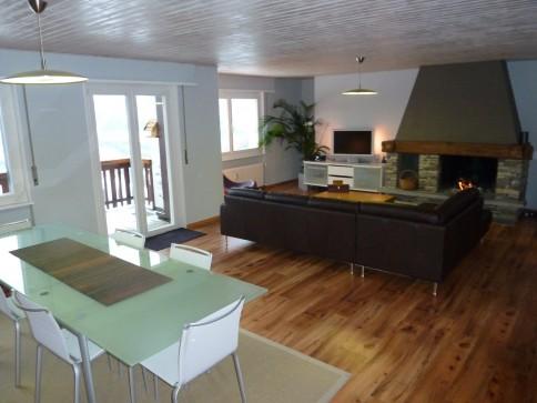 Magnifique appartement, au calme, vue exceptionnelle sur les Alpes