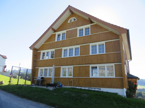 Maisonette-Wohnung im Grünen