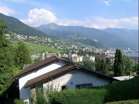Montreux, app. 3.5 pces dans villa indiv.