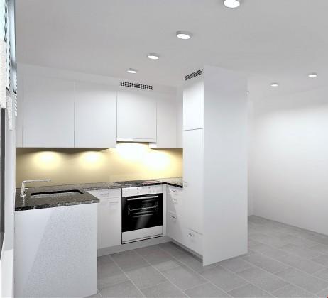 Neue Küche mit hochwertige V Zug Geräte