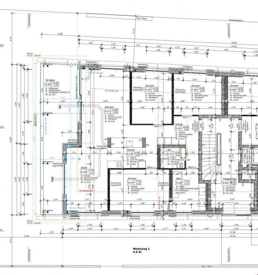 neubau mehrfamilienhaus mit 5 wohnungen in riehen immoscout24. Black Bedroom Furniture Sets. Home Design Ideas
