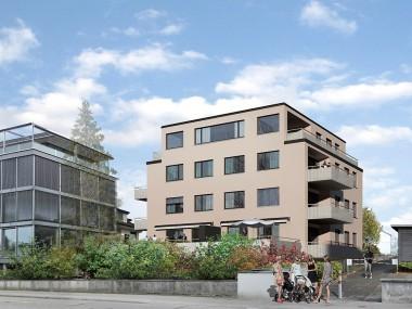 """Neubauprojekt """"Kempratener Bucht"""" 3.5-Zi.-Wohnung mit 2.60 m Raumhöhe"""