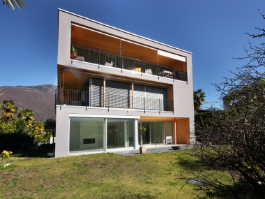 Sunny garden appartment in Ascona