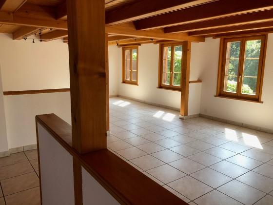 Wohnzimmer inkl. direktem Zugang zum Garten/Sitzplatz
