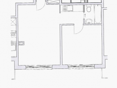 Tolle 2-Zimmer-Stadtwohnung 50m2 nähe Rosengarten