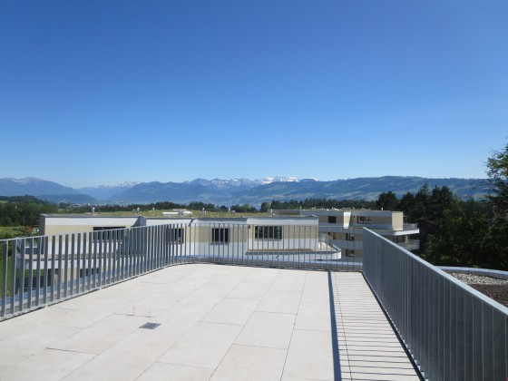 Terrasse mit fantastischer Aussicht!