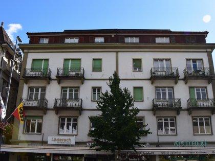 Ansicht Hauptfassade Bahnhofstrasse